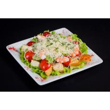 Салат Цезарь. Классический, домашний и ресторанный рецепты.