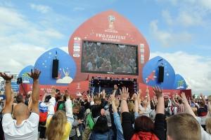 Фан зона ЧМ 2018 в Калининграде или рай для болельщиков