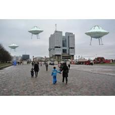 НЛО на рождественской ярмарке в Калининграде