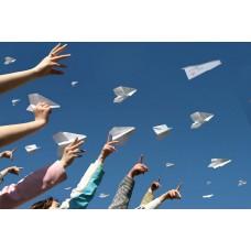 Фестиваль бумажных самолетиков