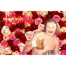 Самые смешные мемы интернета. Мем Выпьем за любовь.