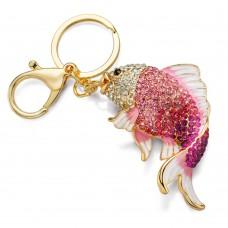 Брелок золотая рыбка