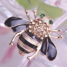 Брошь шикарная пчела