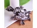 Брошь милая черепаха