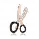 Брошь дизайнерские ножницы