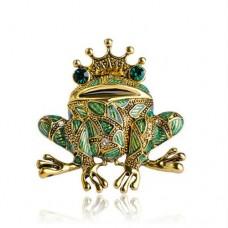 Брошь царевна лягушка