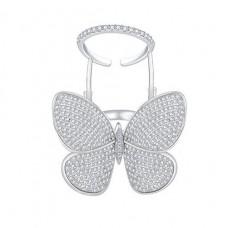 Летающее кольцо бабочка