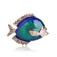 Брошь аквариумная рыбка