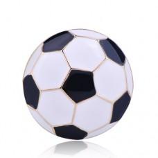Брошь футбольный мяч