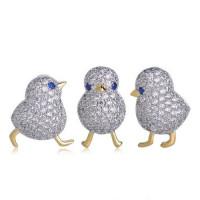 Набор брошей милейшие цыплята