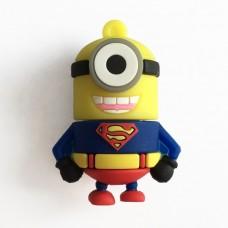Флешка миньон супермен