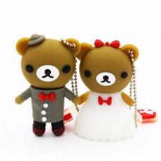 Свадебные флешки мишки