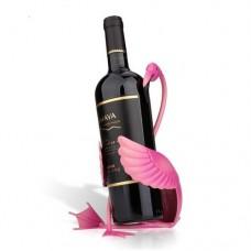 Держатель для бутылки розовый фламинго