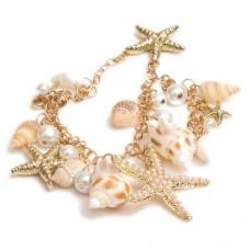 Ожерелье из морских ракушек