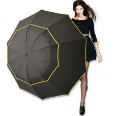 Самый большой ветрозащитный механический зонт