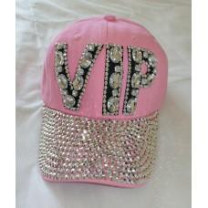 Крутая кепка розовая