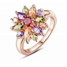 Кольцо цветик-семицветик