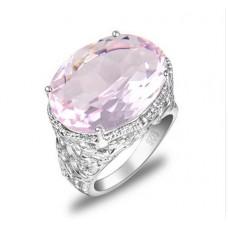 Кольцо розовая пантера