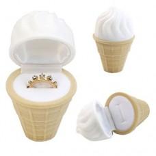 Коробка для кольца мороженое
