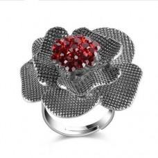 Кольцо прекрасный цветок
